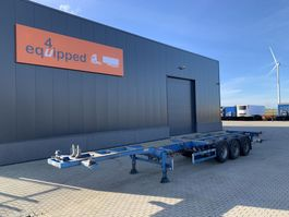 container chassis oplegger Broshuis 45FT HC multi, BPW+Drum, 1x liftaxle, 2x extendable, NL-trailer, APK: 04/2022 2004