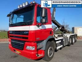containersysteem vrachtwagen DAF CF 85 FAK 8X2 HAAKARM EURO 5 MANUAL 2012