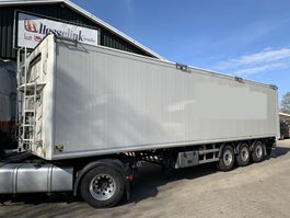 walking floor oplegger Kraker CF 200 70m3 11.3M Agrar Alcoa's Automatic Roof 6.500KG TOP 2015