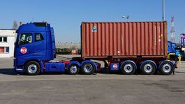 container chassis oplegger Fliegl SDS380 empty weight 2955kgs 2016