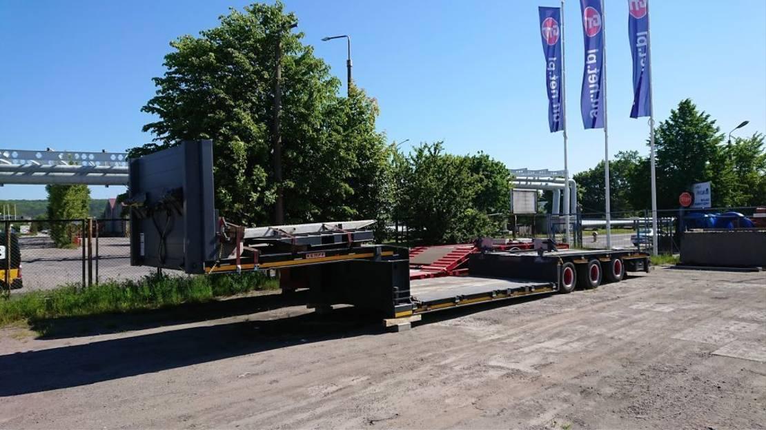 semi dieplader oplegger Kempf SPT42/3 2012