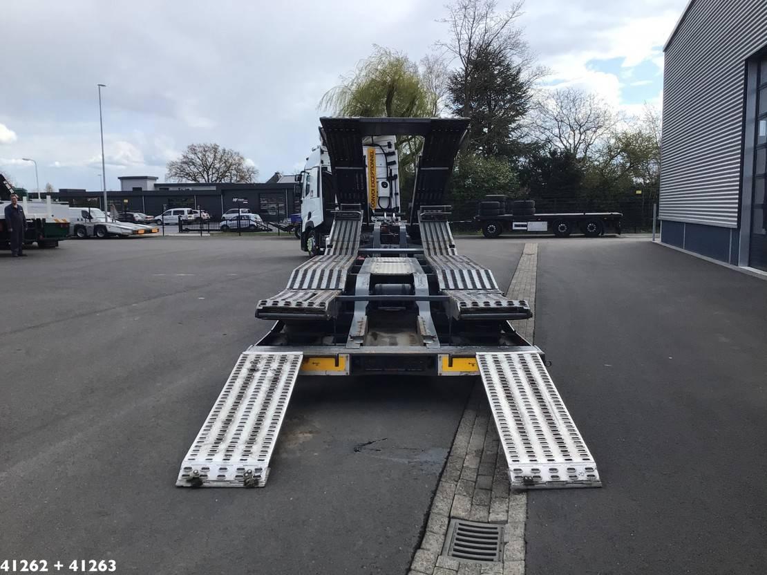 autotransporter vrachtwagen Renault T480 Comfort + Lohr 3-axle truck transporter 2016