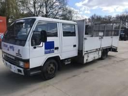 open laadbak vrachtwagen Mitsubishi Canter FE444 **24VOLTS-HYDRAULIC RAMP-WINCH** 1996