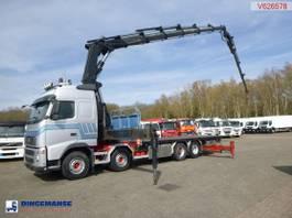 platform vrachtwagen Volvo FH 520 8x4 + Hiab 700 E-6 + jib 2006