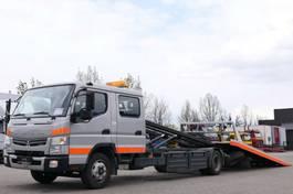 takelwagen bedrijfswagen Mitsubishi 7C18D Fuso Abschlepper Seilwinde Schiebe-Plateau 2013