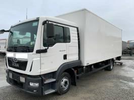 bakwagen vrachtwagen MAN TGL 12 Koffer Klima LBW AHK L-Haus 2017
