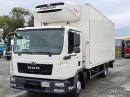 koelwagen vrachtwagen MAN TGL 12 Thermo King Tiefkühlkoffer Euro 5 2013