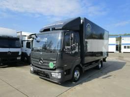 bakwagen vrachtwagen Mercedes-Benz Atego 818 IV L Koffer 5,10 m LBW 1 T*DIFF-SPERRE 2016