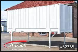 wissellaadbak container Krone WB 7,45, Container, stapelbar, neu lackiert 2005