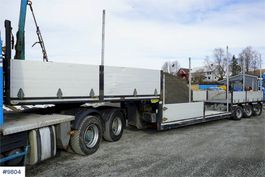 overige opleggers Broshuis 3ABD-48 trailer w / 10.6M extension 2011