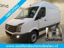 gesloten bestelwagen Volkswagen Crafter 35 2.0 TDI L2H2 Servicebus / Sortimo Inrichting / Trekhaak 3500 KG / 220... 2014