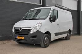 gesloten bestelwagen Opel Movano 2.3 CDTI L1H1 - Airco - Imperiaal - Trekhaak - € 8.950,- Ex. 2015