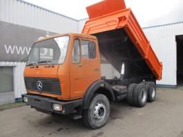 kipper vrachtwagen > 7.5 t Mercedes-Benz 2628 , V8 , ZF Manual , 3 way tipper , Spring suspension 1982