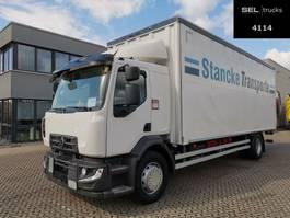 schuifzeil vrachtwagen Renault D 18 / Ladebordwand