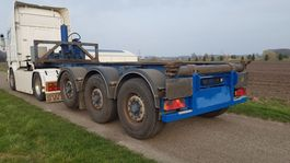 container chassis oplegger LAG 0-3-39 KC KIP CONTAINERCHASSIS FT KIPPER CHASSIS 2009