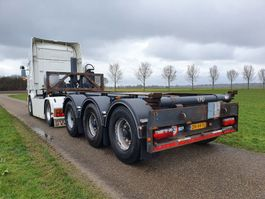 container chassis oplegger LAG O-3-CC A9  2O FT KIPCONTAINERCHASSIS / 20FT KIPPER 2015