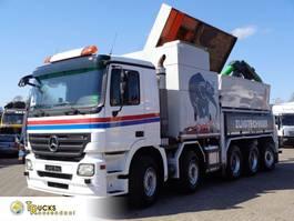 kolkenzuiger vrachtwagen Mercedes-Benz Atego 1223 Euro 5 + Manual + RSP zandzuiger + 3 zuigers + Remote + Compressor + 10x... 2008