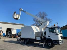 autohoogwerker vrachtwagen MAN 12-180 TGL + ESDA TG1900 LIFT 19M 1000V ISOLATED 2011