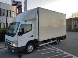 gesloten bestelwagen FUSO Canter 3C15  Bakwagen met Laadklep 2011