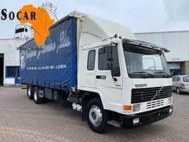 bakwagen vrachtwagen Volvo FL7 285 6x2  Manual-gear euro 2 Steel/Steel 1999