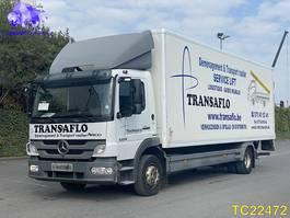 bakwagen vrachtwagen Mercedes-Benz Atego 1224 Euro 5 2011