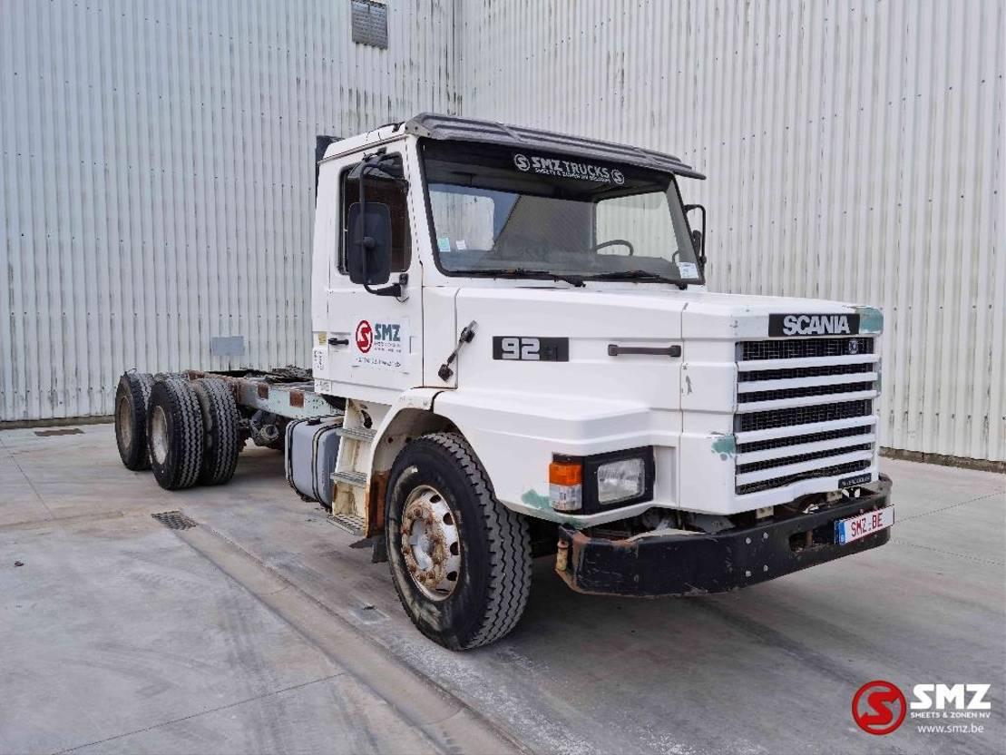 chassis cabine vrachtwagen Scania 92 H Torpedo 6x4 1987