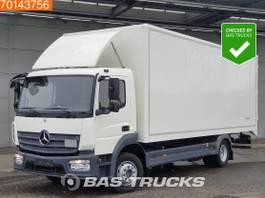 bakwagen vrachtwagen Mercedes-Benz Atego 1224 4X2 6-Cilinder Automatic ClassicSpace Euro 6 2015