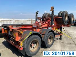 container chassis oplegger Renders Skelet 20 ft 1991