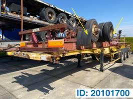 container chassis oplegger Fruehauf Skelet 20-40 ft 1981