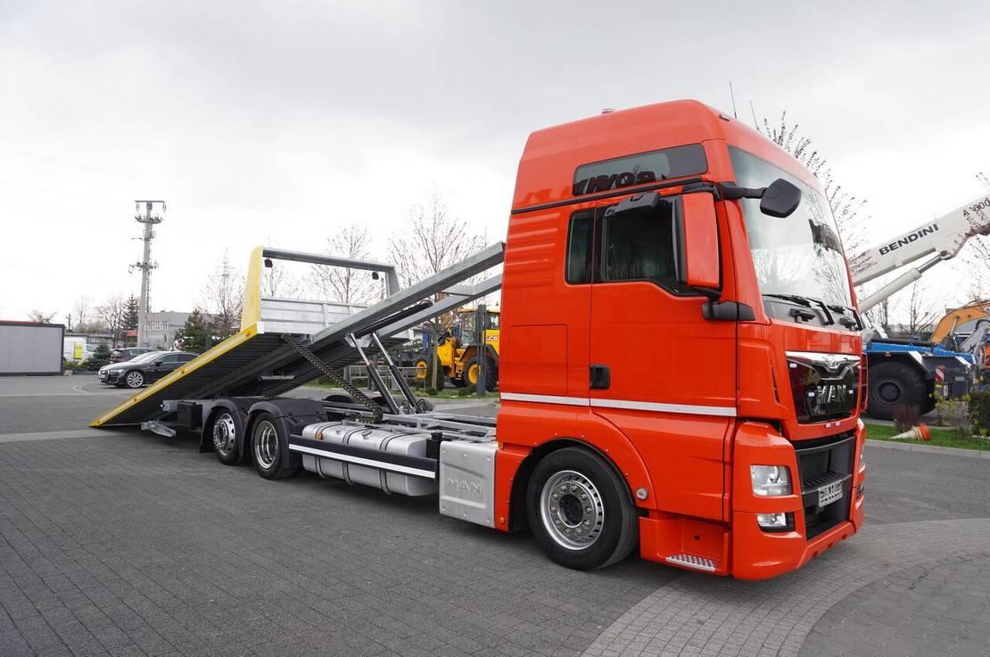 takelwagen-bergingswagen-vrachtwagen MAN TGX 26 XXL , E6 , 6X2 , NEW BODY 7,5m , hydraulic , 2x winch 2017