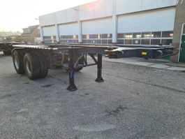 container chassis oplegger Pacton Container chassis 20ft. / Full Steel 1971