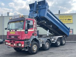 kipper vrachtwagen > 7.5 t Iveco 340E37 EuroTrakker 8x4 12 Tyre's Full Steel Good Condition 2000