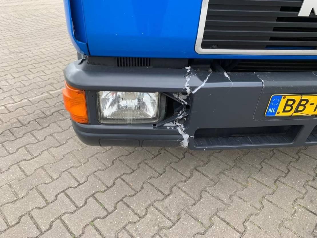 autotransporter vrachtwagen MAN 8.153 Bladgeveerd 1994