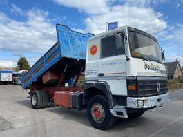 kipper vrachtwagen > 7.5 t Renault R365 Major KIPPER STEEL SPRING 2 CULASSE 1990