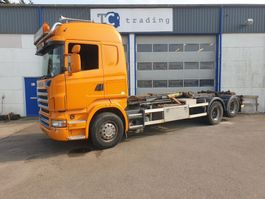 containersysteem vrachtwagen Scania R480 hooklift manual gearbox R480 2008