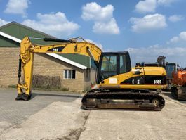 rupsgraafmachine Caterpillar 318C 2006
