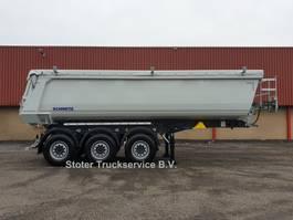 kipper oplegger Schmitz Cargobull 2x SKI 24 SL7.2 - Schoteldruk 15T - Handzeil - 28m3 2021