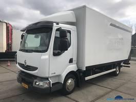 bakwagen vrachtwagen Renault Midlum 220 DXI E5 Manual lift 2013