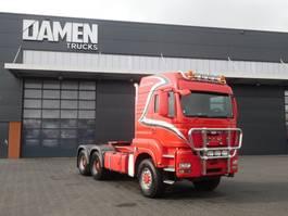 zware last trekker MAN TGS 33 .480 6x6 Tractor Unit 2013