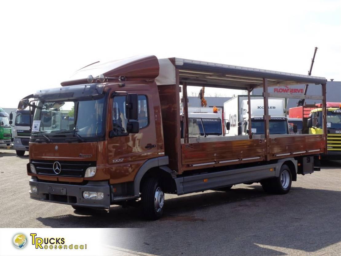 platform vrachtwagen Mercedes-Benz Atego 1222 + Euro 5 2009