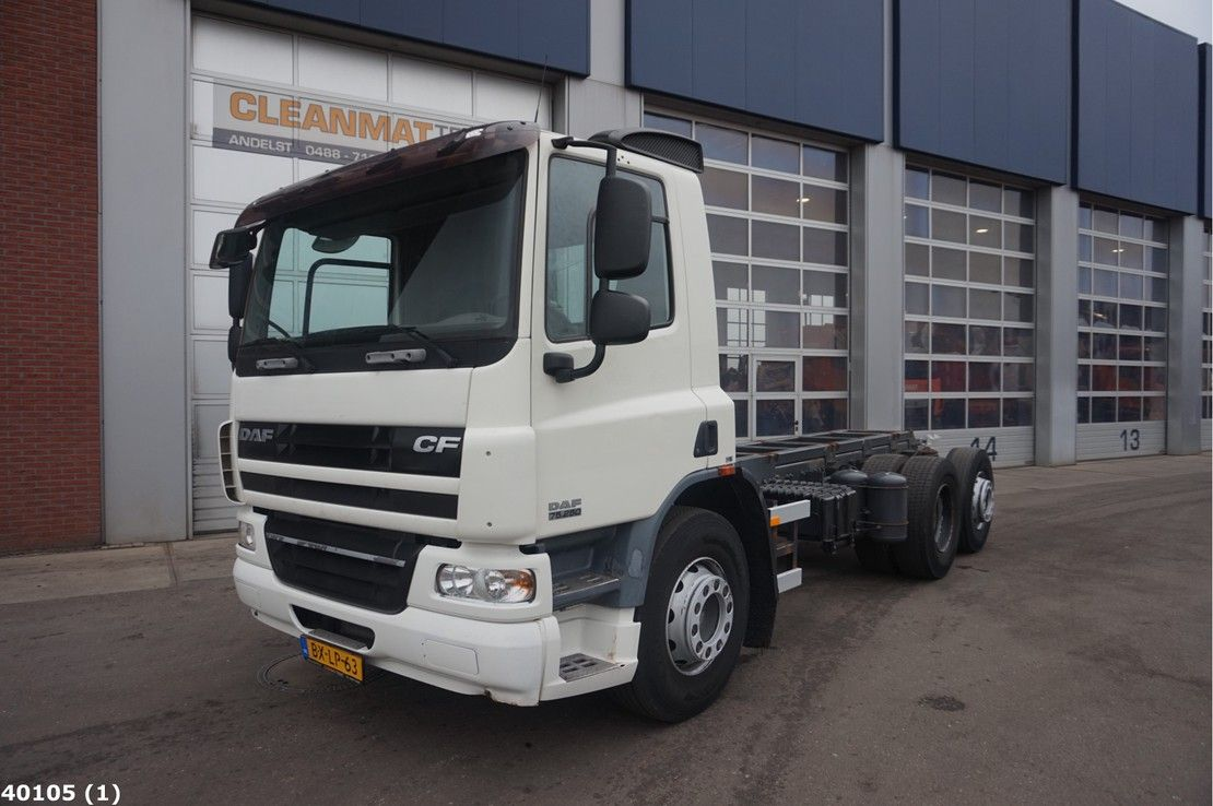 chassis cabine vrachtwagen DAF CF 250 FAN 75 Euro 5 EEV Chassis 2010