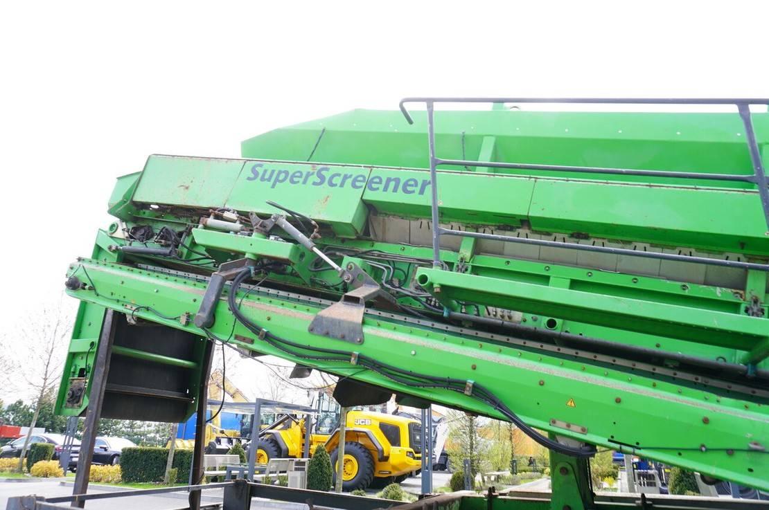 zeefinstallatie Diversen Neunhauser Superscreener 2.1.2.120, mobile screen, 3 lines, 1.2m 2005