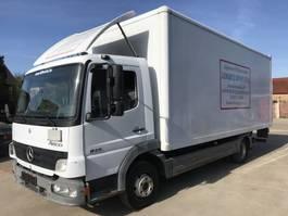 bakwagen vrachtwagen Mercedes-Benz Atego 815 **BELGIAN TRUCK-FULL STEEL SUSPENSION** 2006