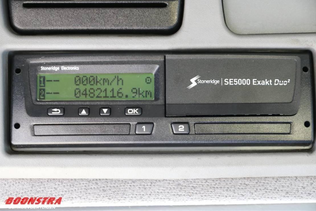 autotransporter vrachtwagen Mercedes-Benz Atego 1024 + Auflieger VF 3-Lader Winde / Lier . 2008