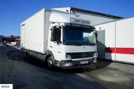 bakwagen vrachtwagen Mercedes-Benz Atego 818 818L box truck 2007