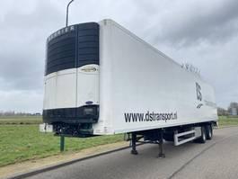koel-vries oplegger Pacton 2-Axle Fridge / Steering / Loading Lift / NL Trailer 2007
