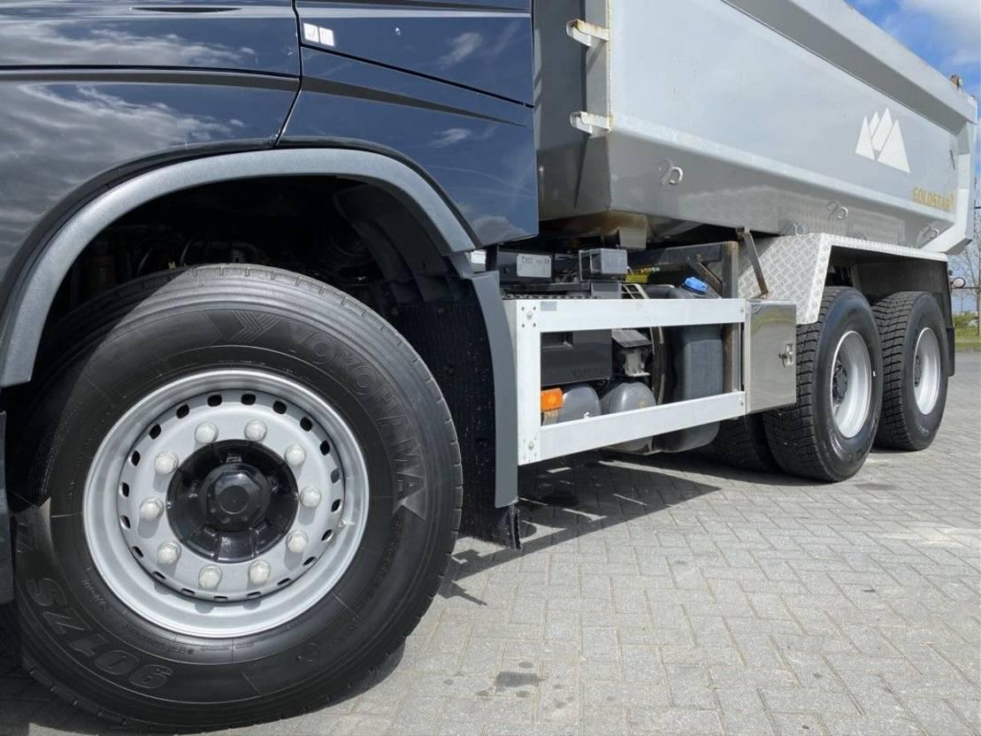 driezijdige kipper vrachtwagen Volvo FH540 FH13.540 6X4 EURO 6 FULL STEEL HUBREDUCTION DYNAMIC STEERING 2014