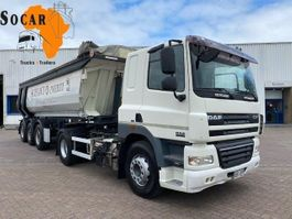 kipper vrachtwagen > 7.5 t DAF CF 85.460 (TRUCK + TIPPER TRAILER) Manual-gear 2009