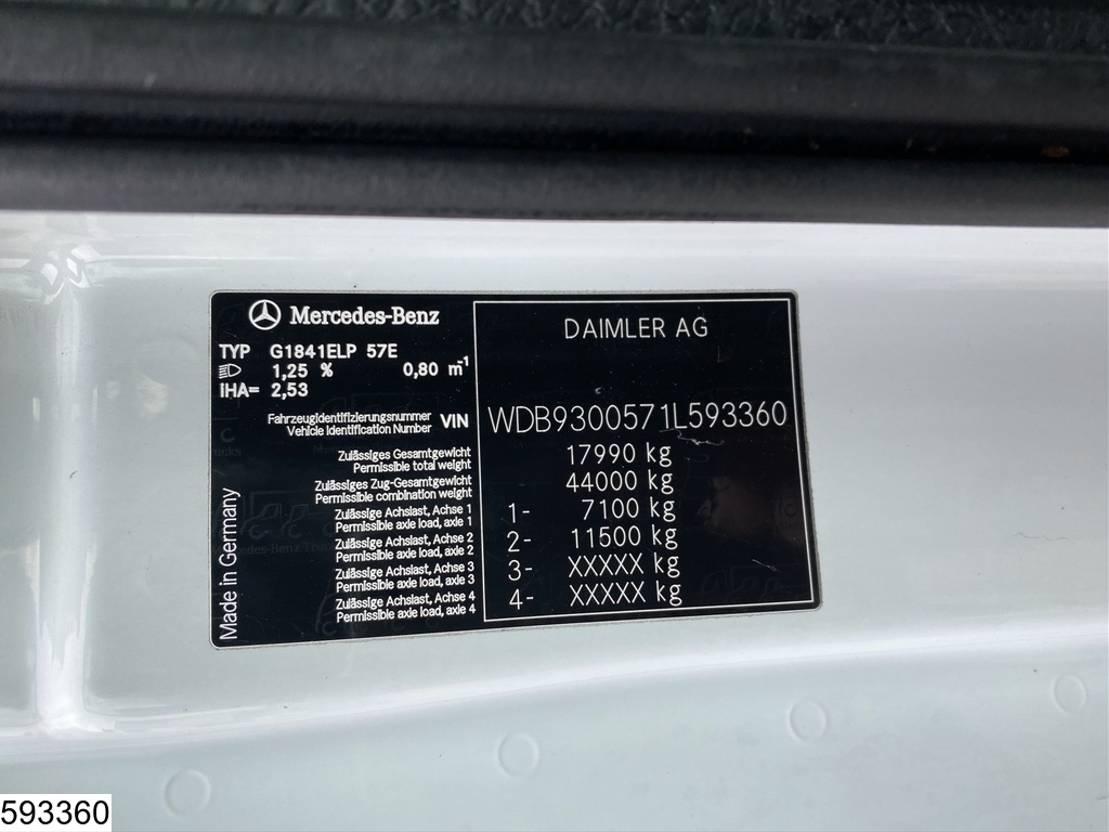 autotransporter vrachtwagen Mercedes-Benz Actros 1841 EURO 5, Lohr, Multilohr, Retarder, Combi 2011