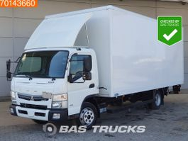bakwagen vrachtwagen Mitsubishi Fuso 7C18 4X2 Manual Ladebordwand Steelsuspension Euro 6 2017